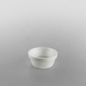 Dart Polystyrene Sauce Container White