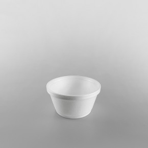 Dart Polystyrene Container White