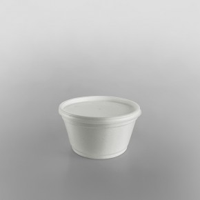 Dart Polystyrene Container White Extra Wide