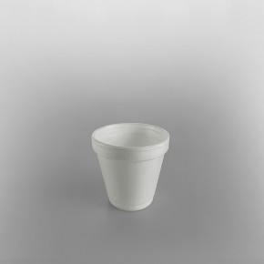 Dart Polystyrene Cup White