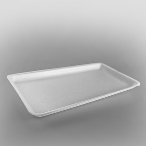 Polystyrene White Tray [SJ5] [435x225x27mm]