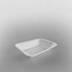 Linpac Polystyrene White Tray