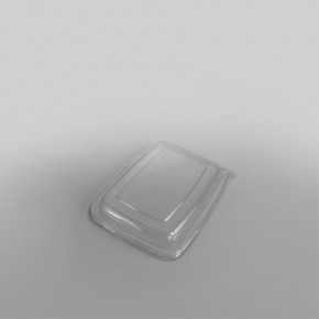 Sabert RPET LID To Fit Rectangular Pulp Containers