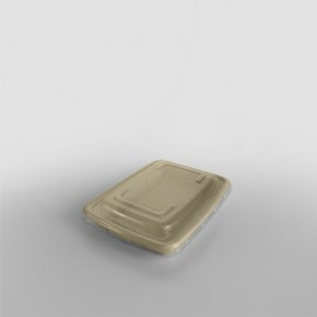 Sabert PP LID To Fit Rectangular Pulp Containers