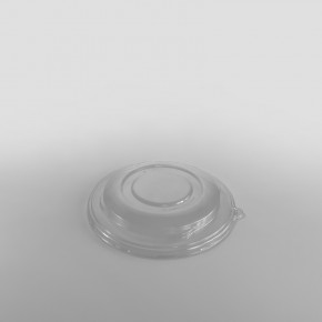 Sabert Domed RPET LID To Fit Wide Round Pulp Bowls [750ml, 1000ml, 1500ml]