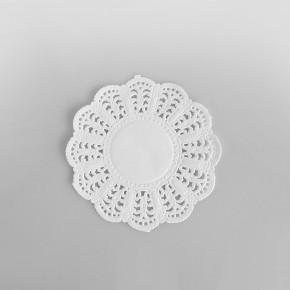 Swantex Paper Round Doily White