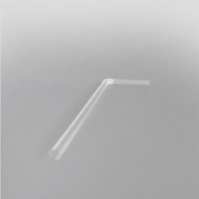 Clear Bendy Straws [200x6mm]