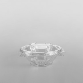 Somoplast Clear Hinged Salad Bowl