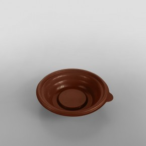 Somoplast Brown Microwavable Take Away Bowl