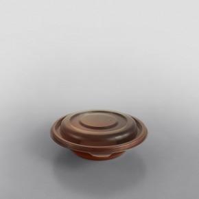 Somoplast Lid for Brown Brown Microwavable Take Away Bowl [250cc, 375cc, 500cc, 750cc]