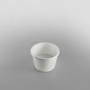 Go-Pak Paper Soup Container & Lid Combo