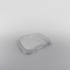 Somoplast Clear High Lids for Rectangular Salad Container