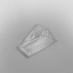 Hinged Plastic Sandwich Wedge For Deepfill Sandwiches