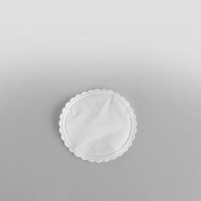 Swantex Plain White Coasters 80mm