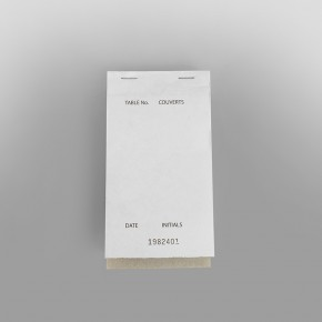 Waiter Pad Triplicate Carbonless [92 x 165mm]