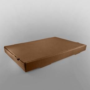 Pizza Box Brown Plain, Rectangular